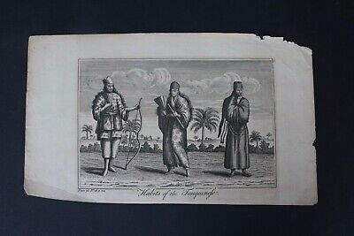 £12.95 • Buy 18th Century Engraving Habits Of The Tonquinesse