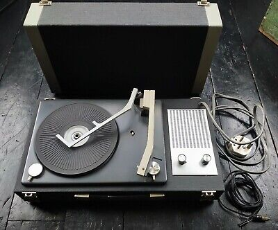£45 • Buy Vintage Fidelity HF32 1960's Portable Record Player, Good Condition, Rare
