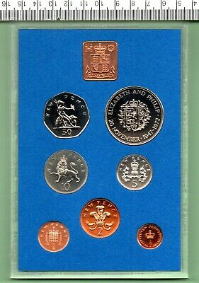 £35 • Buy 1972 Proof Sealed Annual Seven Coin Year Set Complete