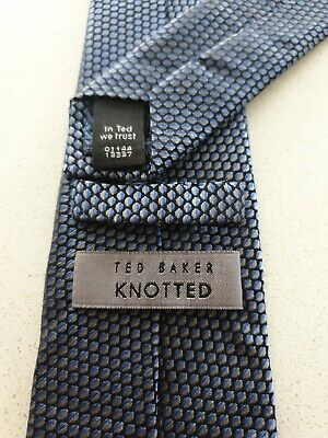 £8 • Buy Ted Baker Knotted Silk Tie 7.5cm
