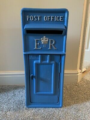 £159 • Buy **ER Royal Mail Post Box, Letter Box Blue Silver Letters Wedding & Venue Use**
