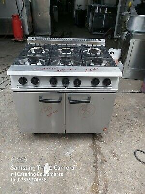 £660 • Buy Falcon Oven 6 Hobs Heavy Duty Commercial 6 Burner Cooker For Catering  NAT GAS