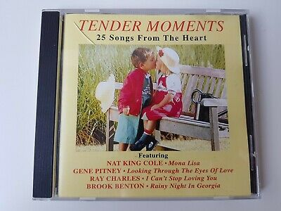 £5 • Buy TENDER MOMENTS 25 Songs From He Heart NAT King COLE GENE PITNEY RAY Charles Etc