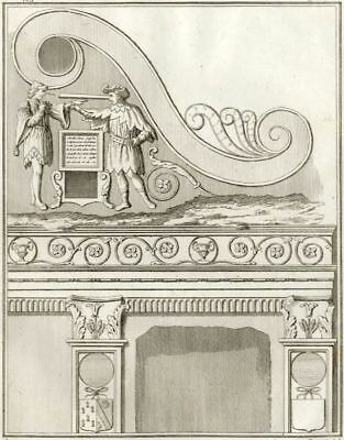 £27.02 • Buy Ornaments Singular Of The Chapelle Of Comines - Millin Engraving Original 18th