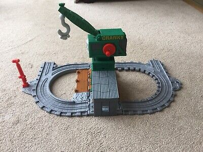 £16.99 • Buy Fisher-Price Thomas & Friends Take N Play Cranky The Crane At The Docks