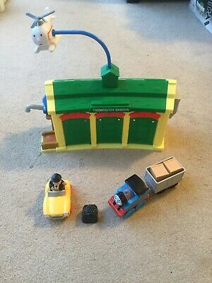 £28.99 • Buy Mattel Thomas & Friends Discover Junction Tidmouth Sheds With Sounds