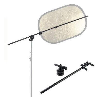 £16.99 • Buy Studio Photography Reflector Disc Holder Extendable Boom Arm With Adapter Clamp