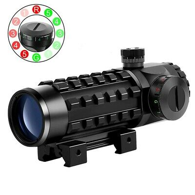 $74.54 • Buy 3X28 Tactical Rifle Scope Green Red Dot Scopes Outdoor Hunting Military Optics