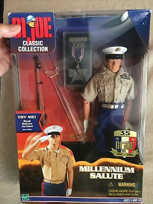 $70 • Buy 12  GI Joe Millennium Salute Classic Collection Saluting Arm With Medal & Stand