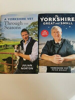 £11.99 • Buy Joblot X2 My Yorkshire Great And Small And A Yorkshire Vet, Hardback Books