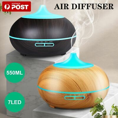 AU17.99 • Buy LED Essential Oil Ultrasonic Humidifier Aroma Diffuser Purifier Air Aromatherapy