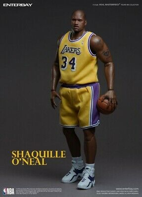 $541.48 • Buy NBA Collection Real Masterpiece Actionfigur 1/6 Shaquille O'Neal 37 Cm