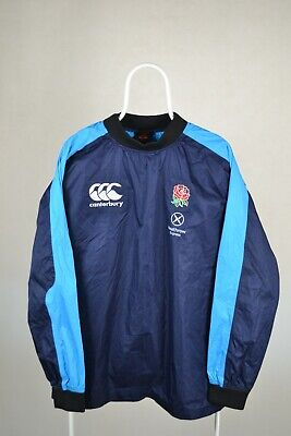 £44.99 • Buy RUGBY UNION ENGLAND CANTERBURY DRILL TOP JUMPER JACKET Size L LARGE