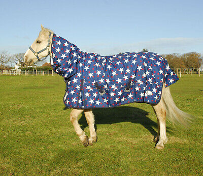 £47.90 • Buy Rhinegold Star Torrent Full Neck Combination Horse Pony Lightweight Turnout Rug