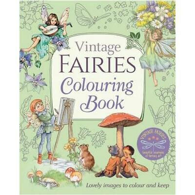 £6.99 • Buy Vintage Fairies Colouring Book By Margaret Tarrant (author)