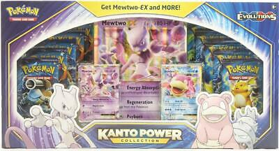 $205.95 • Buy Pokemon Kanto Power Collection Mewtwo BLUE Box (XY Evolutions Boosters!)