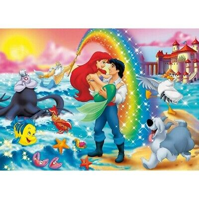 AU14.99 • Buy Full Drill Diamond Painting 5D DIY Prince And Mermaid Embroidery Kit Decor Mural