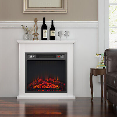 £169.99 • Buy Luxury 1.8KW Electric Fireplace Suite LED Log Fire Burning Flame With Surround