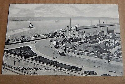 £6.14 • Buy Postcard Landing Stage And River Liverpool Unposted XC2