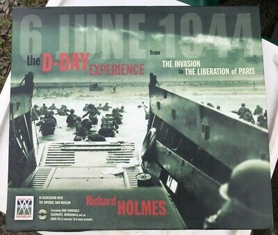 £20 • Buy The D-Day Experience Book By Richard Holmes + Documents Memorabilia Audio CD NEW