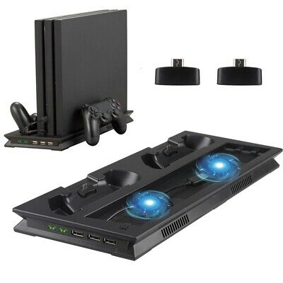 AU24.62 • Buy Fast Charging Docking Vertical Cooling Station Base Stand For PS4 Pro/Controller