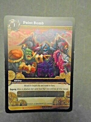 £4.99 • Buy  Wow Paint Bomb Loot Card Unscratched