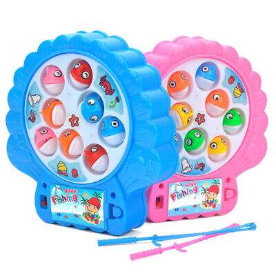 £6.99 • Buy Rotating Magnetic Crazy Fish Fishing Game Kids Educational Toys