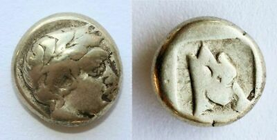 £253.51 • Buy *sc* Rare Greece, Lesbos Mytilini Gold Silver Electrum 1/6 Stater (hekte)