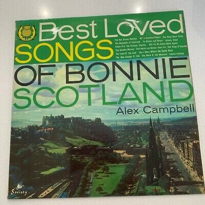 £5.99 • Buy Alex Campbell - The Best Loved Songs Of Bonnie Scotland - 12  LP Vinyl Record