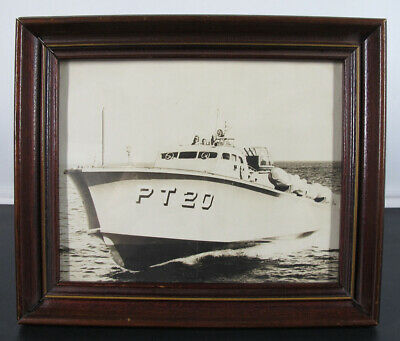 $ CDN28.54 • Buy WWII Photograph Patrol Torpedo Boat PT-20 FIRST Torpedo Boat Served In WWII Yqz