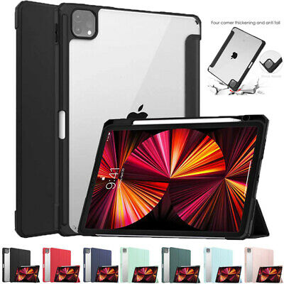 AU28.39 • Buy For IPad Pro12.9 11 2021/2020 /2018 Shockproof Smart Clear Case Heavy Duty Cover