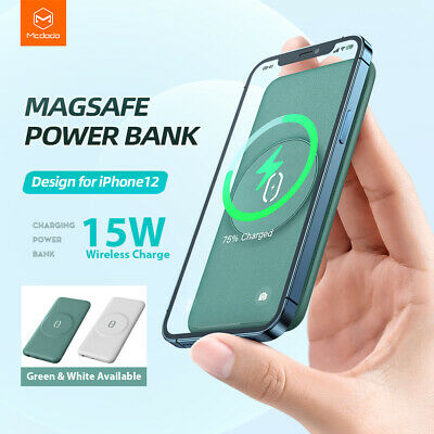 AU44.90 • Buy MCDODO 10000mAh Portable Power Bank Type C 15W Fast Charge Fr IPhone 12 Mag Safe