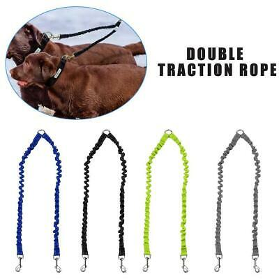 AU5.86 • Buy Bungee Dog Lead Splitter 1 To 2 Double Leash Strong T1Y5 Twin Two Way I1R0
