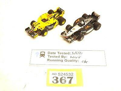 £24.50 • Buy Micro Scalextric Mclaren And Jordan F1 Cars (Unboxed) O367