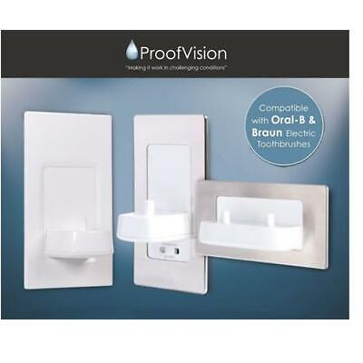 AU16.54 • Buy In-wall Electric Toothbrush Charger & Shaver Socket By Proofvision Oral B/Braun