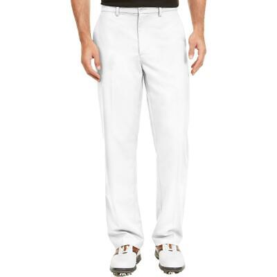 $9.89 • Buy Attack Life By Greg Norman Mens White Professional Dress Pants 36/30 BHFO 2654