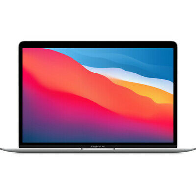 $939 • Buy Apple 13.3  MacBook Air M1 Chip With Retina Display 256GB SSD, Late 2020, Silver