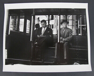 $ CDN83.40 • Buy Vintage DOROTHEA LANGE Attributed Photograph On The Cable Car San Francisco Yqz