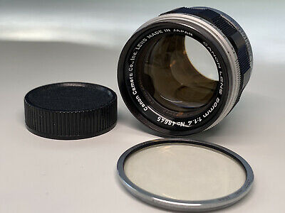 $185.25 • Buy Tested Canon 50mm F1.4 LTM L39  Lens For Leica Screw Mount M39