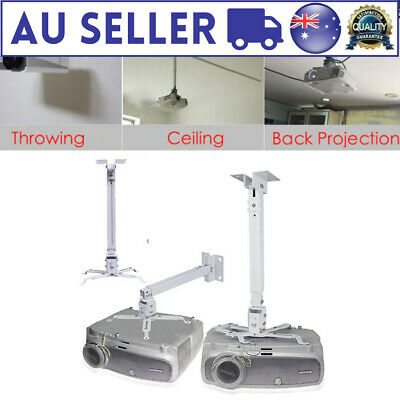 AU13.13 • Buy Universal 2 In 1 Extendable LCD Led Projector Ceiling Wall Bracket Tilt Mount CA