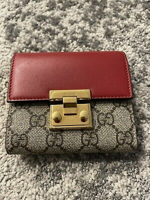 AU450 • Buy Gucci Wallet Leather Red