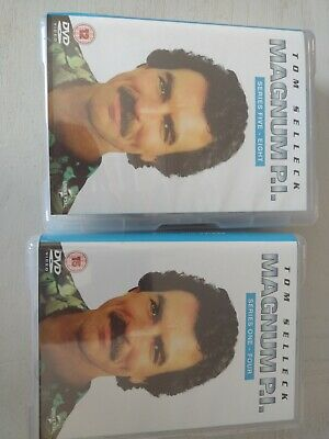 £45 • Buy Tom Selleck Magnum PI, Complete Series One To Eight, 45 Disc Set, Collection.