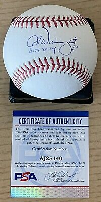 £122.15 • Buy Adam Wainwright W/his Rare Remark Psa/dna Authenticated Signed Manfred Baseball