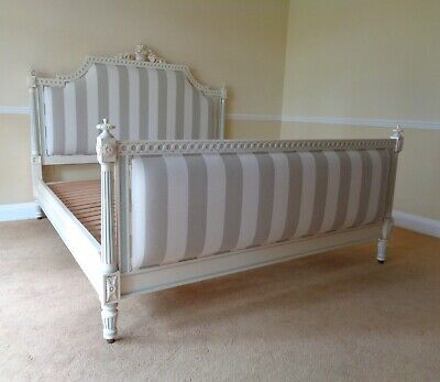 £317.85 • Buy AND SO TO BED JULIET 6ft SUPER KING BED PAINTED FRENCH ANTIQUE STYLE