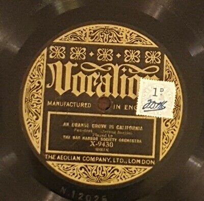 £14.90 • Buy The Bar Harbor Society Orchestra/the Ambassadors 78rpm   Vocalion X-9430