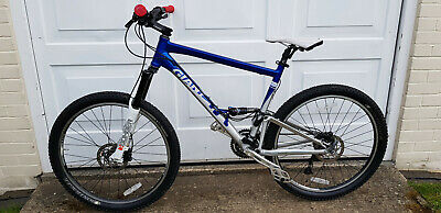£550 • Buy Giant Anthem 1 Dual Suspension Large 19 Inch 140mm Marzzochi Bomber Forks