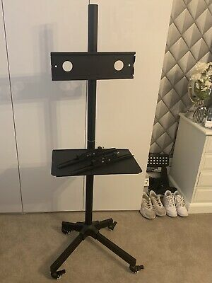 """£18 • Buy Mobile TV Trolley Floor Stand 23""""-60"""" LED/PLASMA/LCD. Adjustable EXCELLENT COND"""