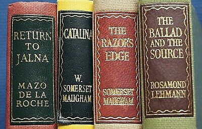 £6.50 • Buy 4 X REPRINT SOCIETY BOOKS - POST WAR PRINTS - 1940,s 50,s IN VERY GOOD CONDITION