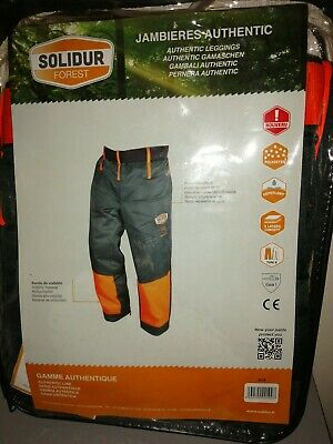 £43 • Buy Chainsaw Trousers Protective SOLIDUR FOREST