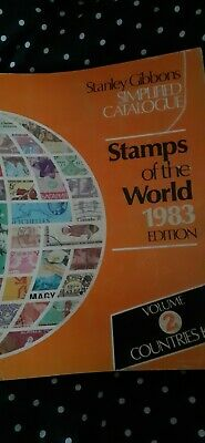 £5.99 • Buy Stanley Gibbons Stamps Of The World 1983 Edition, Vol 2, Countries K-Z